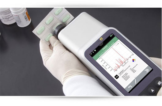 Handheld Raman Spectrometer Progeny CompleteID Software Image Rigaku Analytical Devices